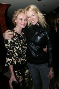 Kate Bosworth and Amanda de Cadenet at the after party of the premiere of
