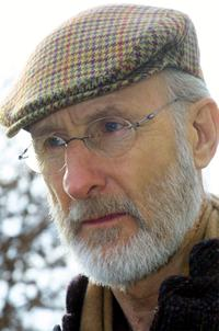 James Cromwell at press conference.