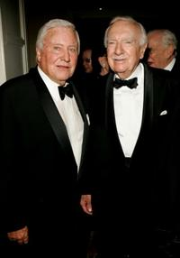 Merv Griffin and Walter Cronkite at the Museum of Television and Radio gala honoring of Merv Griffin.