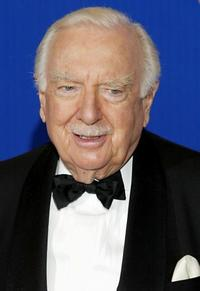 Walter Cronkite at the 55th Annual Primetime Emmy Awards.