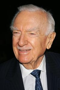 Walter Cronkite at the Vanity Fair 2007 Tribeca Film Festival party.