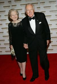 Walter Cronkite and wife at the 27th Annual Kennedy Center Honors.