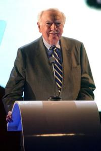 Walter Cronkite at the MTV Networks UpFront.