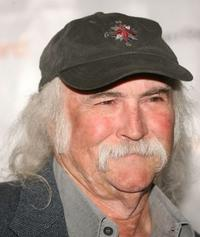 David Crosby at the Third Annual Los Angeles Gala.
