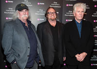 David Crosby, Stephen Stills and Graham Nash at the Candie's Foundation Event in New York.