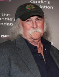 David Crosby at the Candie's Foundation Event in New York.