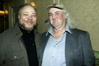 Stephen McKinley Henderson and David Crosby at the opening night party of