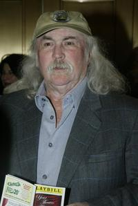 David Crosby at the opening night of