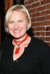 Denise Crosby at the VDAY West LA 2006 cocktail reception.