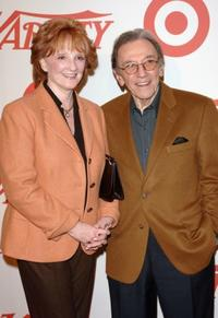 Norm Crosby and wife Joan Crosby at the Variety's Centennial Gala.