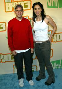 David Cross and Sarah Silverman at the VH1's Big In 2003 Awards.