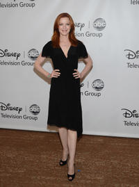 Marcia Cross at the Disney ABC Televison Group's TCA 2001 Summer Press Tour in California.