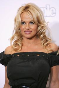 Pamela Anderson at the Fifth Annual Adopt-A-Minefield Gala night.