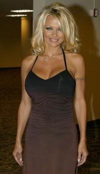 Pamela Anderson at the 4th Annual Adopt-A-Minefield Gala.
