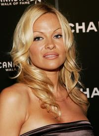 Pamela Anderson at the Canada's Walk Of Fame Gala.