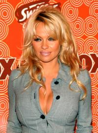 Pamela Anderson at the FOX Fall Casino Party.