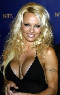 Pamela Anderson at the National TV Awards.