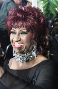 Celia Cruz at the Billboard Latin Music Awards.