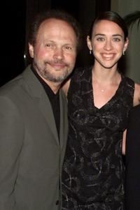 Billy Crystal and Lindsay Crystal at the Los Angeles screening of