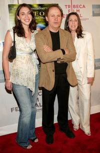 Lindsay Crystal, Billy Crystal and Janice Crystal at the Tribeca Film Festival.