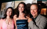 Janice Crystal, Lindsay Crystal and Billy Crystal at the Los Angeles premiere of