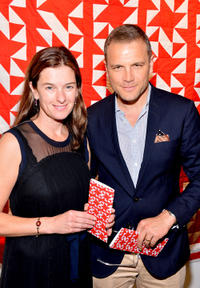Julia Molnar and David Cubitt at the 2nd Annual Art Auction and Fundraiser in California.