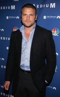 David Cubitt at the NBC fall party for