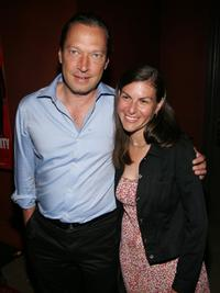 Scott Anderson and Guest at the after party of the premiere of