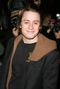 Kieran Culkin at the opening night of Talk Radio.