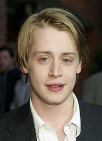 Macaulay Culkin at the Los Angeles premiere of