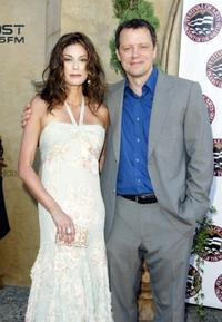 Teri Hatcher and Steven Culp at the Seventh Annual Pageant of the Masters Gala Benefit.