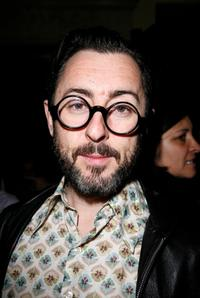 Alan Cumming at the Cynthia Rowley Fall 2008 fashion show.