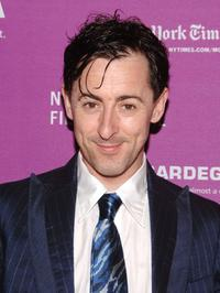 Alan Cumming at the New York premiere of