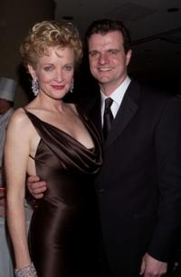 Christine Ebersole and Michael Cumpsty at the after party of the New York opening night of