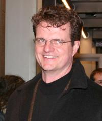 Michael Cumpsty at the New York opening night of