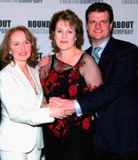 Kate Burton, Lynn Redgrave and Michael Cumpsty at the New York opening night of