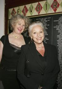 Annie Byron and Lynette Curran at the Company B's 2007 season launch.