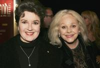 Lorraine Bayly and Lynette Curran at the Helpmann Awards.