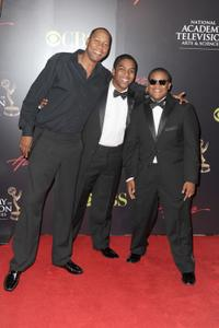 Mark Curry, Christopher Massey and Kyle Massey at the 37th Annual Daytime Entertainment Emmy Awards.