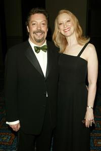 Tim Curry and Guest at the 59th Annual Tony Awards.
