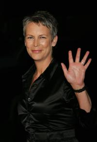 Jamie Lee Curtis at the premier of