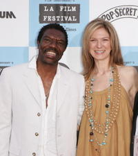 Vondie Curtis-Hall and Dawn Hudson at the Los Angeles Film Festival screening of
