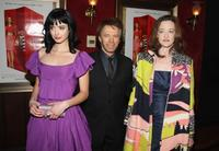 Kristen Ritter, producer Jerry Bruckheimer and Joan Cusack at the premiere of