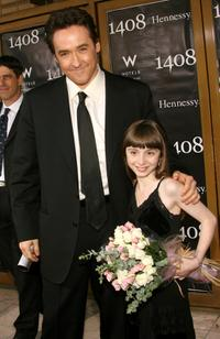 John Cusack and Jasmine Jessica Anthony at the premiere of