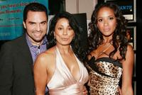 Manny Perez, Wanda de Jesus and Dania Ramirez at the premiere of
