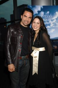 Manny Perez and Jennifer Pena at the premiere of