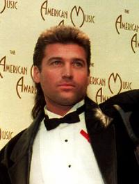Billy Ray Cyrus at the American Music Awards.