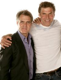 Henry Czerny and Nick Chunlund at the 2007 CineVegas film festival.