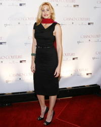 Olivia D'Abo at the Casino Couture event to benefit The Princess Grace Foundation.