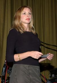 Olivia D'Abo at the AMP Awards.